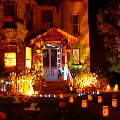 Decoraci n de halloween ideas para decorar im genes - Decoracion de halloween para casas ...