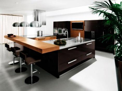 Decoraci n de cocina americana ideas y modelos incre bles - Cocinas modernas americanas ...