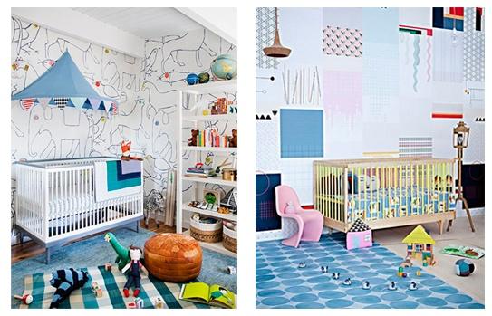 decoración de habitación de bebe