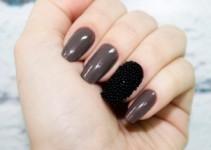 decoración de uñas caviar paso a paso