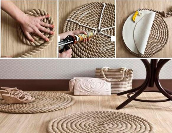 8 ideas para hacer alfombras en casa - Ideas para hacer manualidades en casa ...