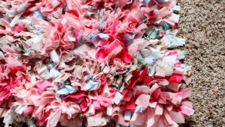alfombra multicolor