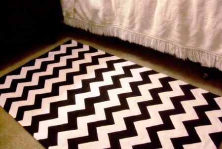 alfombra rallas
