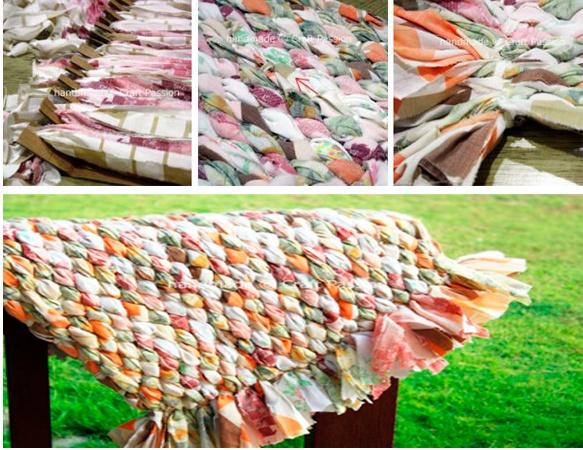 8 ideas para hacer alfombras en casa - Telas para alfombras ...