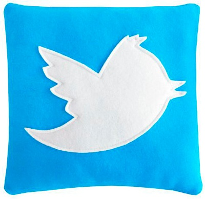 cojin decorativo twitter, cojines para decorar camas, cojines para regalar, comprar cojines decorativos