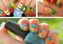 diseños de uñas fáciles de hacer