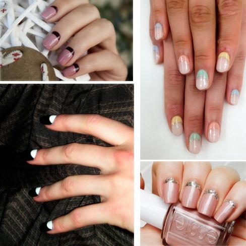 uñas de gel decoradas, diseños de uñas de gel, decorasion de uñas,