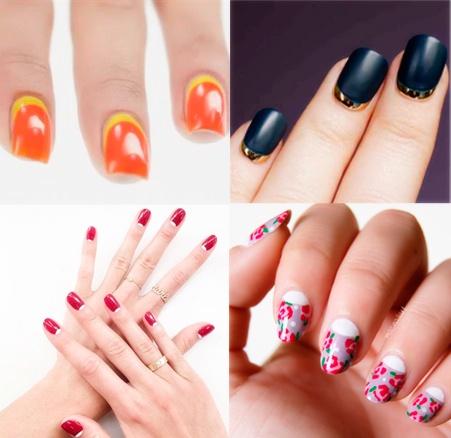 uñas de gel francesas, decoracion de uñas de gel, manicura, materiales para uñas de gel