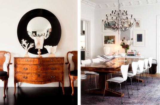 decoración estilo vintage minimalista