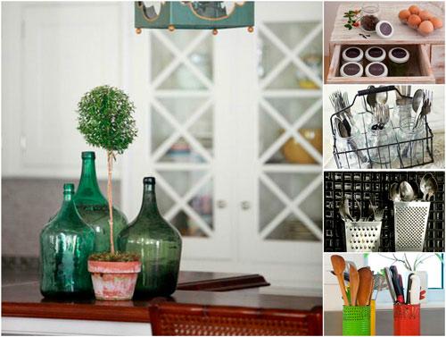 menaje hogar y cocina, reciclaje domestico