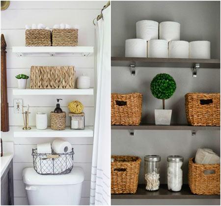 estanterias para cuartos de baño