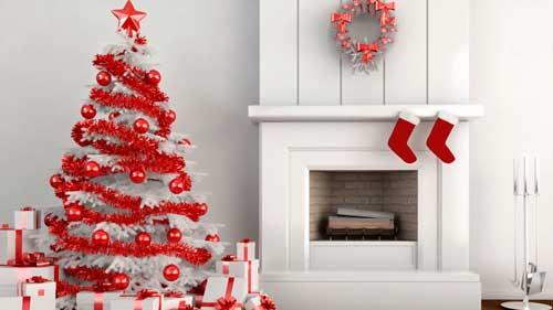 árbol decoración de navidad