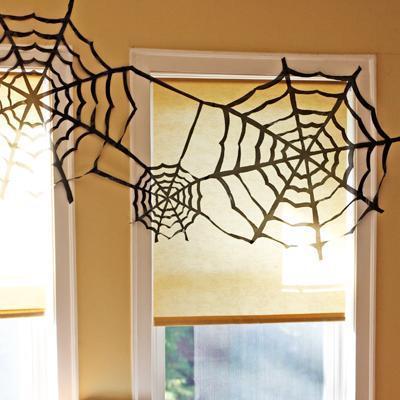 telarañas para halloween
