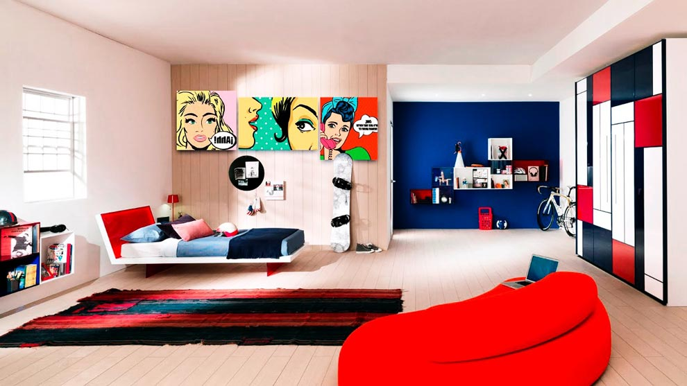 decoracion pop art