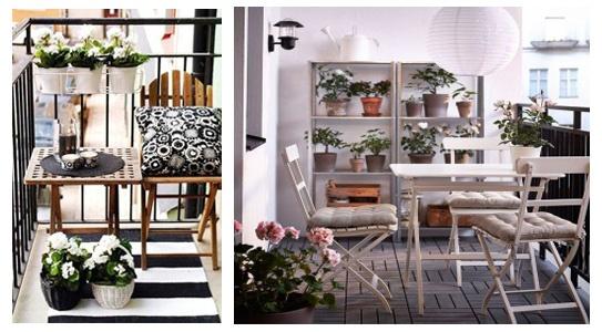 Decoraci n de terrazas c mo decorar tu terraza for Mobiliario para terrazas pequenas