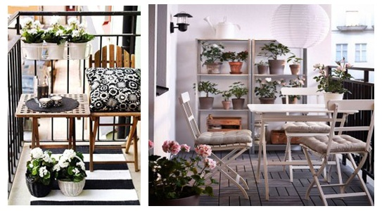 Decoraci n de terrazas c mo decorar tu terraza - Como decorar una terraza pequena ...