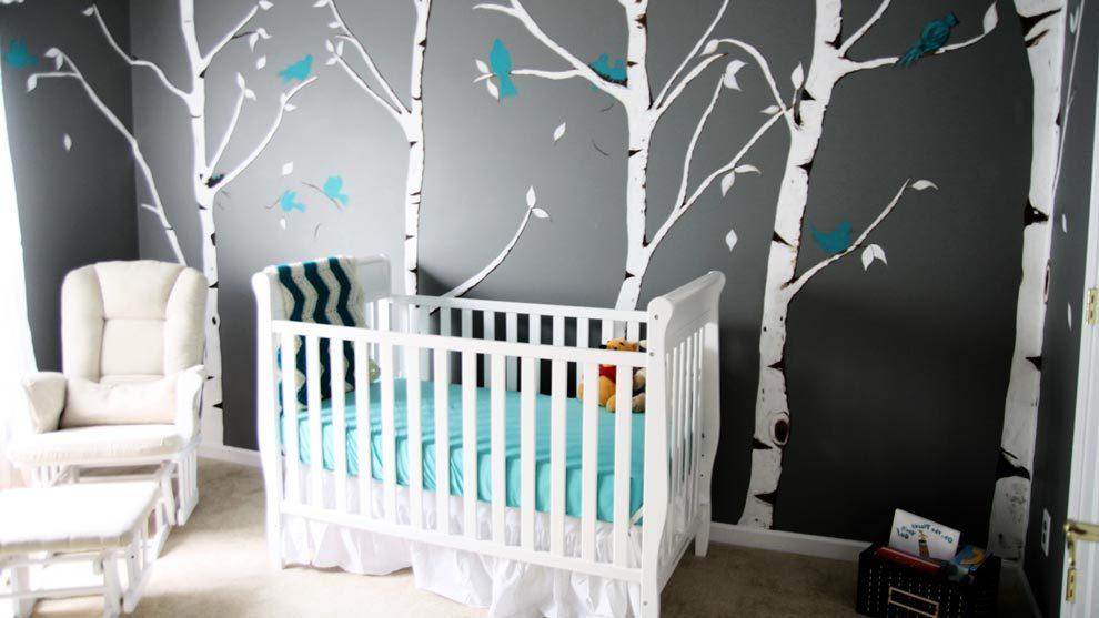 Decoraci n de habitaci n de beb - Decoracion pared habitacion bebe ...