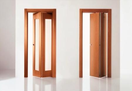 Tipos de puertas para interiores y exteriores for Puertas en madera para interiores