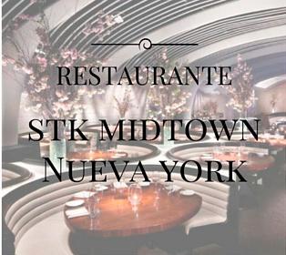 decoración stk midtown nueva york