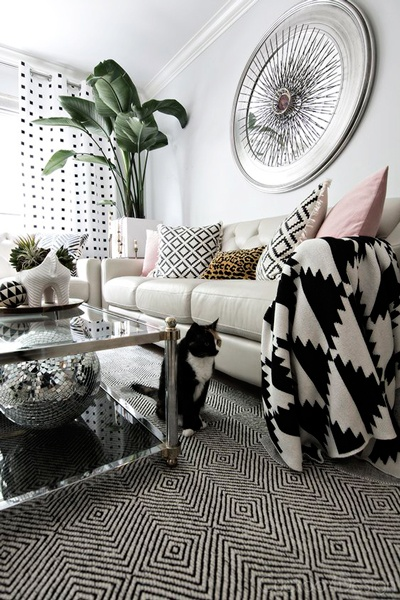 decoración animal print