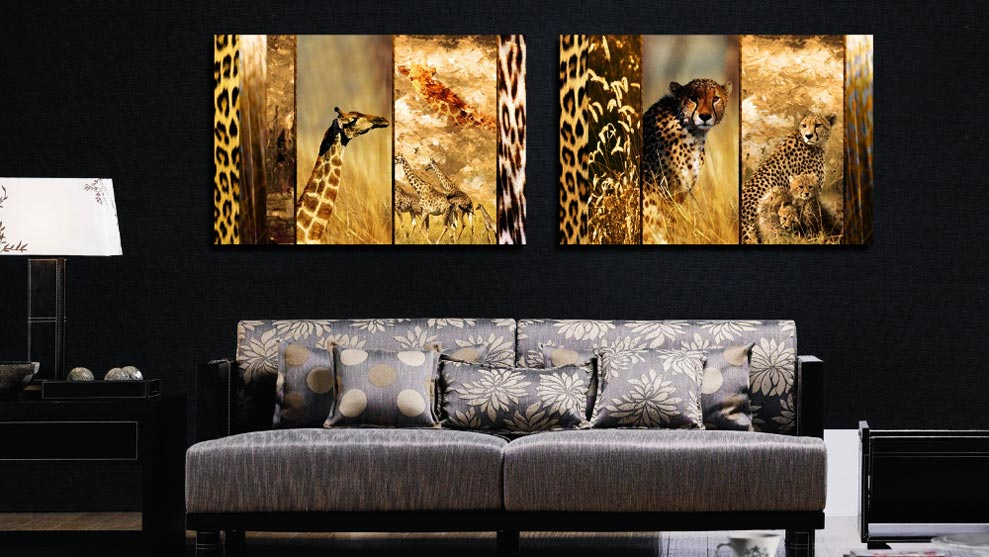 decoracion animal print