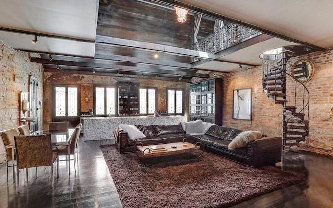 salon loft moderno