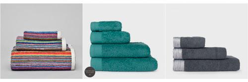 juegos de toallas para cuarto de baño