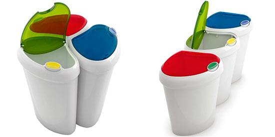Cubos y contenedores para reciclaje los amigos del medio - Contenedores de reciclar ...