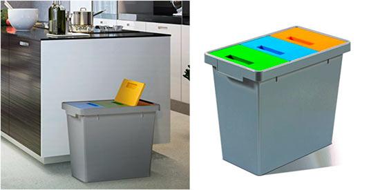 cubos para reciclaje mattiussi