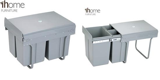 Cubos y contenedores para reciclaje los amigos del medio - Cubos de basura extraibles ...