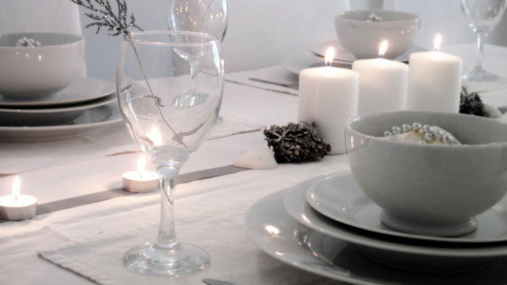 decorado de mesa navidad