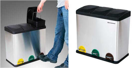 contenedores para reciclaje songmics