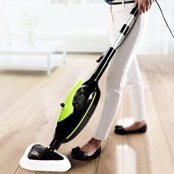 vaporeta de mano para suelos y alfombras