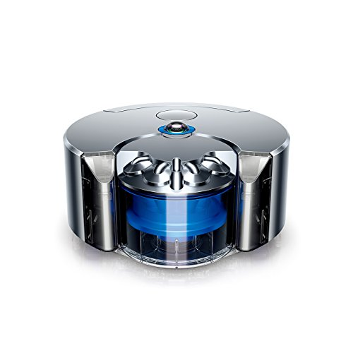 Dyson 360 Eye (Nickel/Blue) - Twice the suction of any robot vacuum - UK Specs