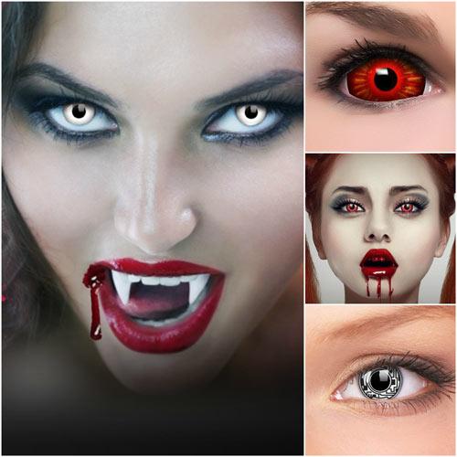 lentes de contacto de colores para halloween