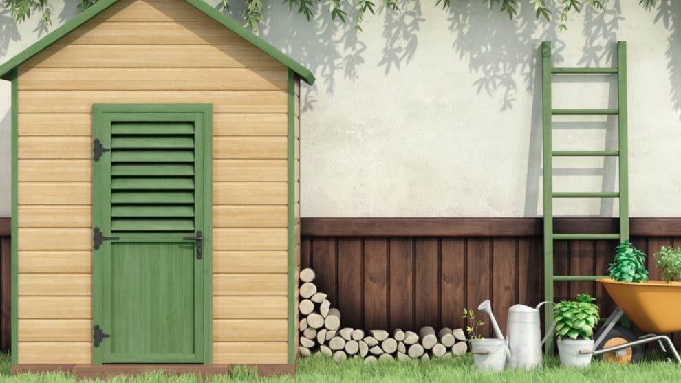 Casetas de madera para el jard n un espacio til y hermoso for Caseta de jardin de madera