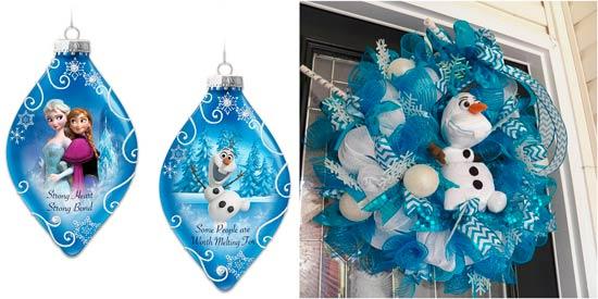 decoracion navidad frozen