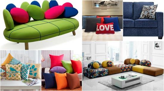 estilos y diseños de sofás