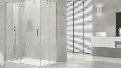mampara ducha acero inoxidable