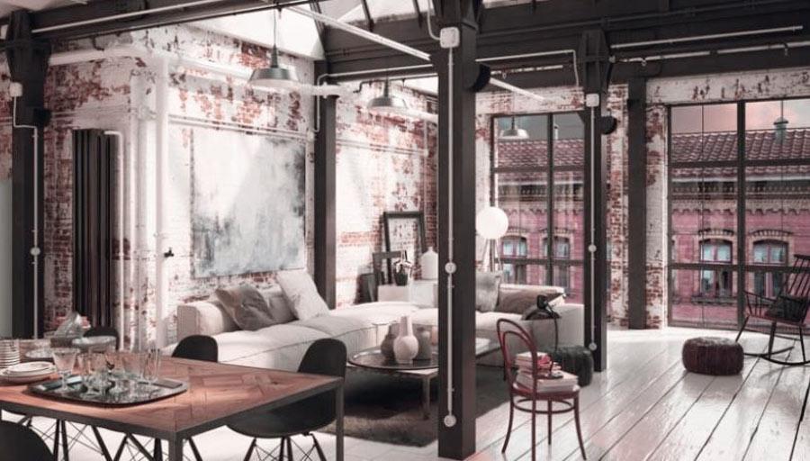 estilo industrial decoracion