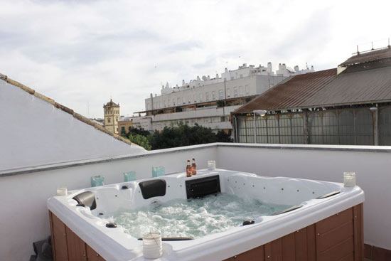 jacuzzi spa terraza