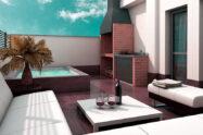 jacuzzi terraza