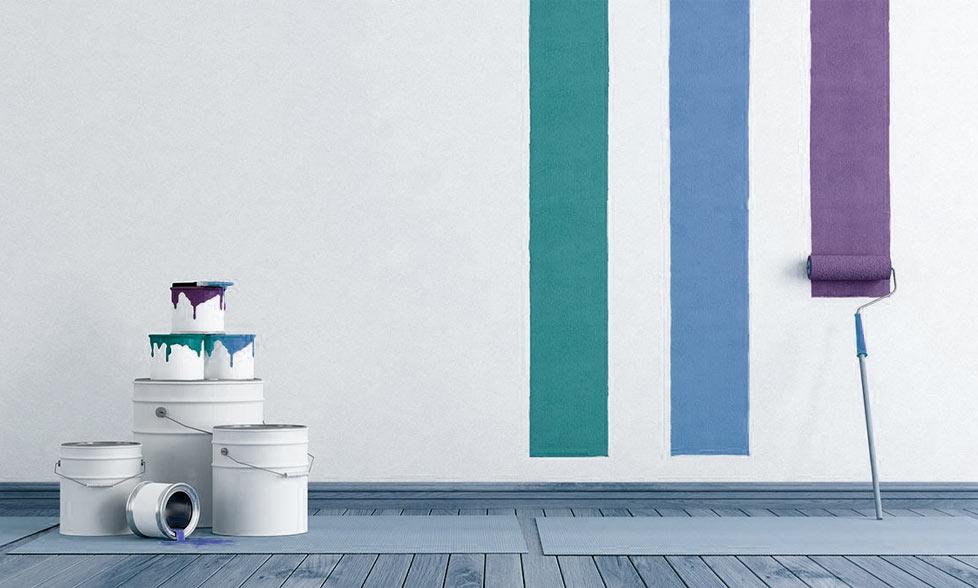 pintura pared interiores